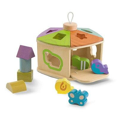 【悅兒樂婦幼用品?】Chicco 木製益智遊戲屋