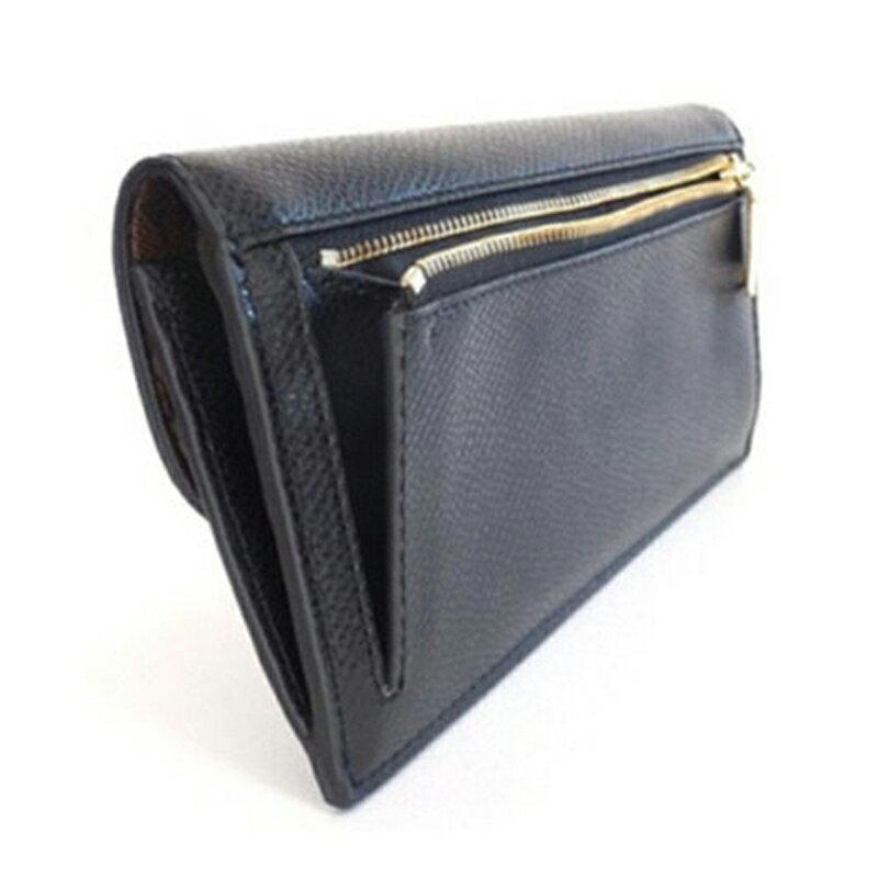 COACH 52864 長款皮夾翻蓋長夾女彩色錢包