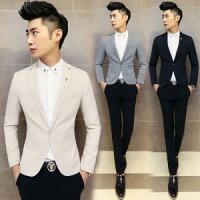 男生面試服裝穿著西裝推薦到2015새로운 韓味男士時尚修身純色西裝外套十天預購+現貨就在窩克yes99buy樂天分店推薦男生面試服裝穿著西裝