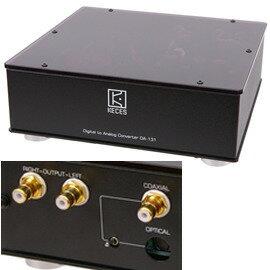 志達電子 DA-131MK3 KECES DA131 MKIII 光纖/同軸數位類比轉換器 sennheiser.AKG.鐵三角