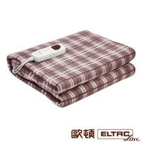 電暖器推薦可用洗衣機清洗~【歐頓ELTAC】單人微電腦電毯((電熱毯) EEH-B05S