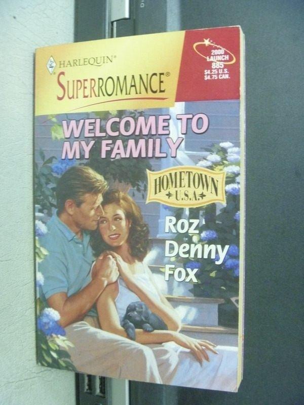 【書寶二手書T4/原文小說_MCI】Welcome to my family_Roz/Denny/Fox