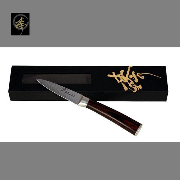 料理刀具 大馬士革鋼系列-削皮刀 〔臻〕高級廚具