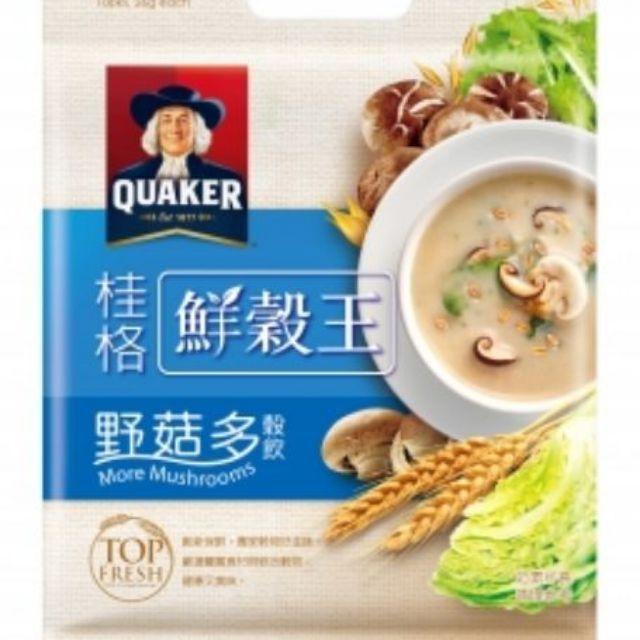桂格  鮮穀王  (鮮蔬多)(野菇多)(30g*10入)(10包裝)
