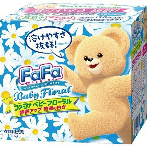 La maison生活小舖《【Nissan】熊寶貝酵素洗衣粉-藍色&寶貝花香0.9kg 》 看到熊寶貝就是日本製的安心品牌 洗衣/衣物清潔