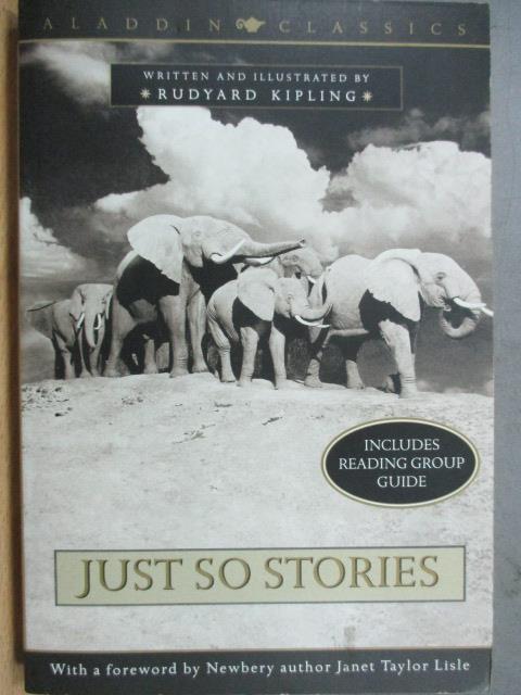 【書寶二手書T1/原文小說_MCW】Just So Stories_Kipling