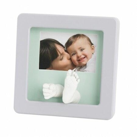 比利時【Baby Art】寶寶手腳雕塑相框(白) 1