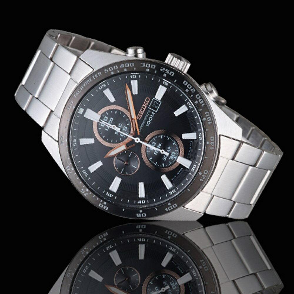 SEIKO Criteria勁速交鋒計時腕錶 V176-0AV0D SSC649P1 1