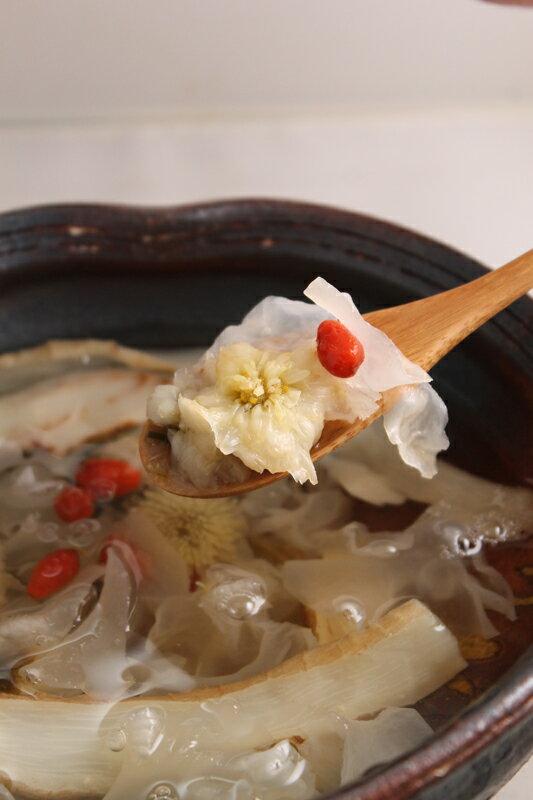 玉竹銀耳貢菊