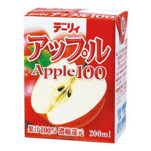 南日本酪農 100%蘋果汁 200ml