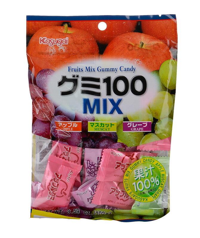 春日井 綜合100^%QQ軟糖