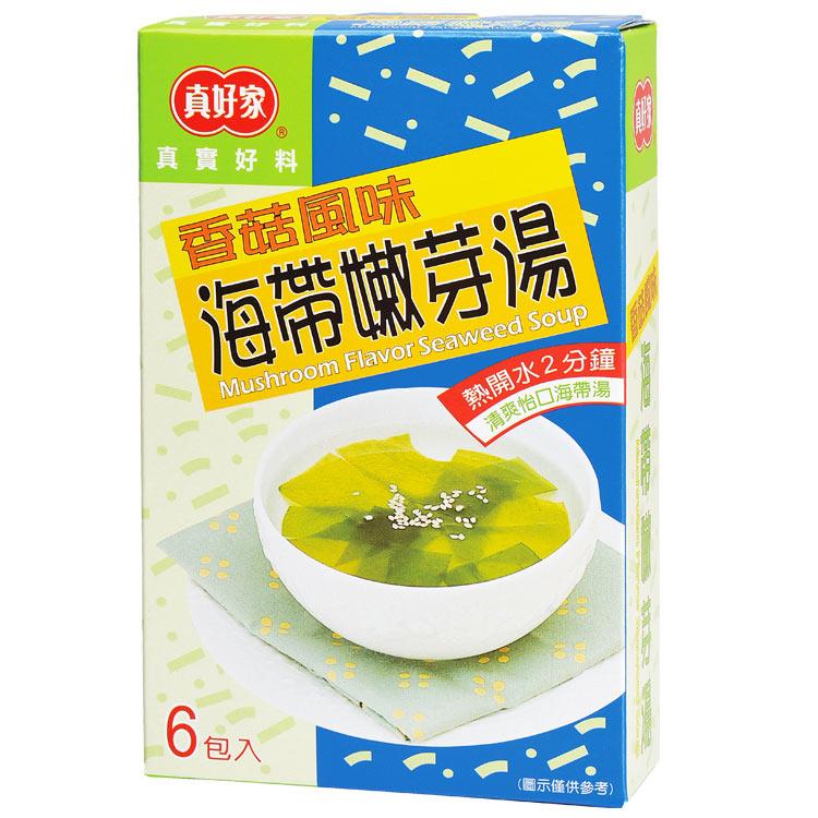 【真好家】香菇海帶嫩芽湯(6包入)-奶素