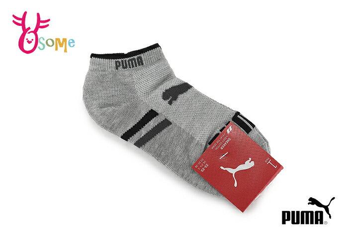 PUMA NOS LOGO 襪子 成人女款 腳踝襪 短襪 襪 吸汗透氣 一雙入 SX398#灰色◆OSOME奧森鞋業