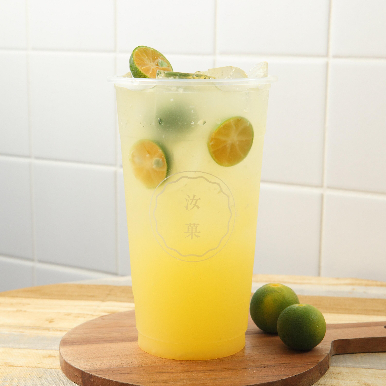 【汝菓】金桔檸檬 L (冷/熱) 700 c.c.★水果風味★電子票券