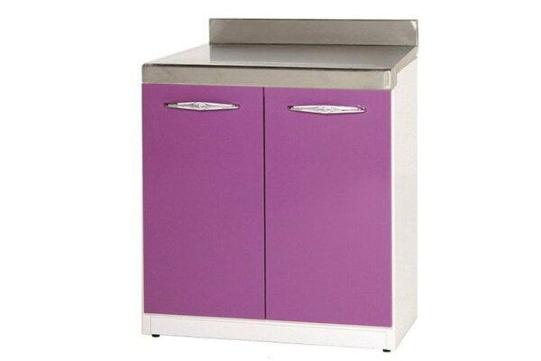 【石川家居】914-05(紫白色)平檯(CT-702)#訂製預購款式#環保塑鋼P無毒防霉易清潔