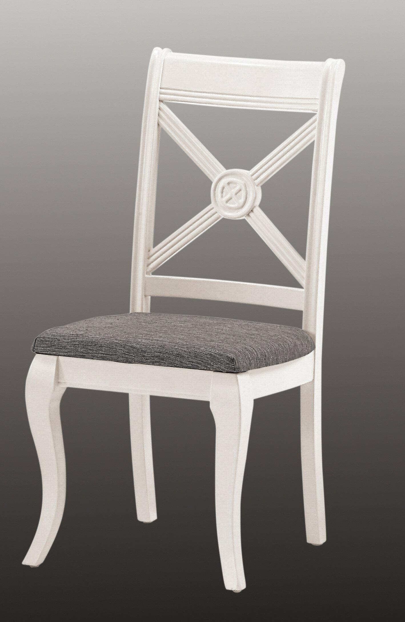 ~ 尚品傢俱~CM~486~15卡蜜拉餐椅^(米白色^)^(坐高46公分^) ~  好康折