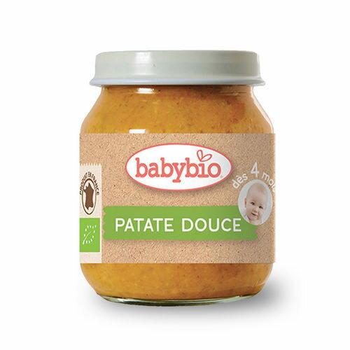 法國 倍優 Babybio 有機甜薯泥 4m+ 有機副食品 蔬菜泥