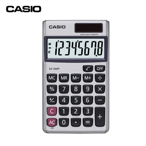 CASIOSX-300P國家考試專用計算機(8位數)