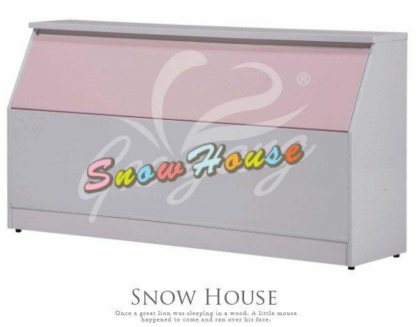 ╭~雪之屋居家 館~╯P346~14 15 16 3.5尺塑鋼床頭 置物櫃 塑鋼床底
