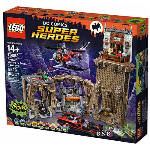 樂高積木LEGO《 LT76052 》SUPER HEROES 超級英雄系列 - 蝙蝠俠 : TV版蝙蝠洞