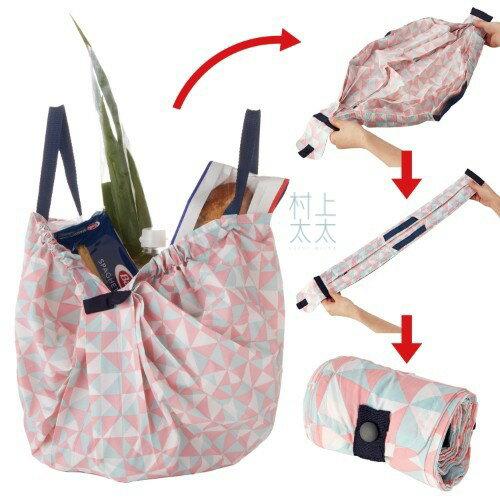 【MARNA】日本 Shupatto輕巧秒收環保袋 M 折疊 大容量 環保袋 購物袋 萬用包 收納
