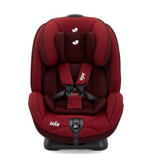 【淘氣寶寶*加贈立體透氣推車汽座涼墊】奇哥 Joie 新 0~7歲成長型汽座 (紅色)JBD82200R