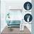 SK Japan 無葉風扇2020新款落地扇靜音家用空氣清淨機 淨化對流台式塔式無扇葉電風扇 7