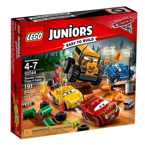 東喬精品百貨商城:樂高積木LEGO《LT10744》2017年Junior初學級系列-閃電山谷的競賽