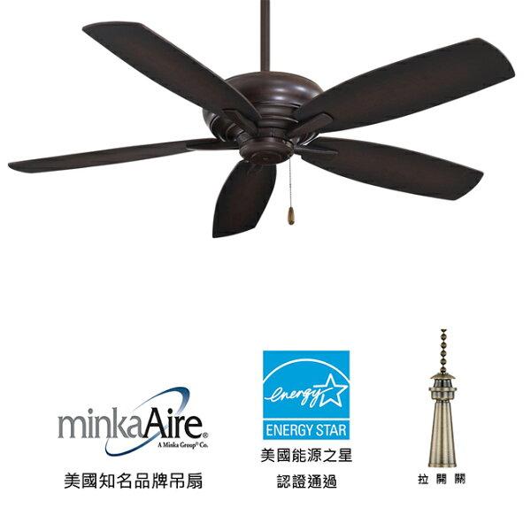 美國知名品牌吊扇專賣店:[topfan]MinkaAireKola52英吋能源之星認證吊扇(F688-KA)可可色