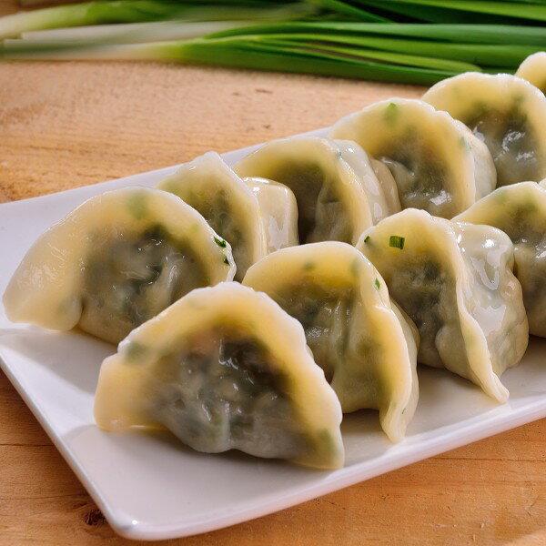 韭菜蝦仁豬肉水餃(30粒裝) 1