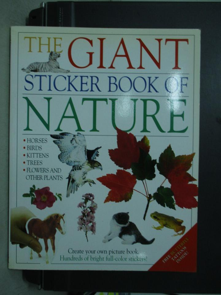 【書寶二手書T7/少年童書_QFW】The Giant sticker…Nature