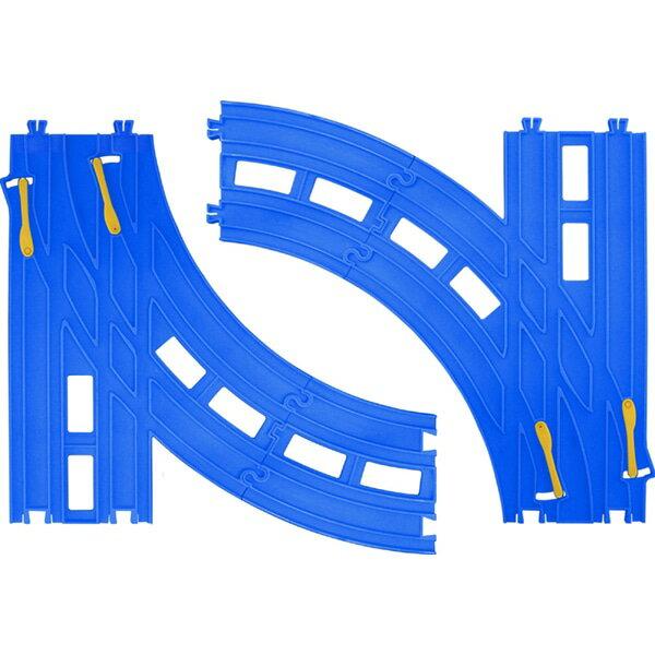 《TAKARA TOMY》 PLARAIL鐵道王國 R-28複線轉輒器 東喬精品百貨