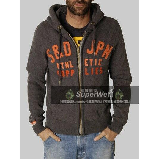 跩狗嚴選 極度乾燥 Superdry Logo Hoodie 純棉夾克 連帽 立體 縫字 外套 棉T 休閒運動