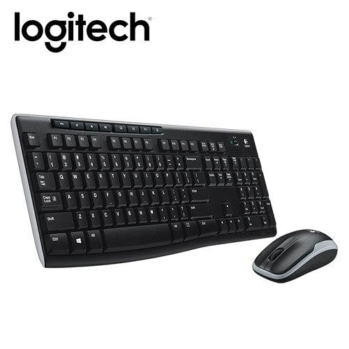 Logitech 羅技 MK270R 無線鍵鼠組【三井3C】