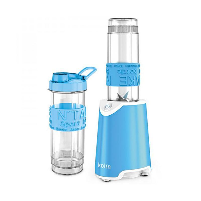 歌林 kolin 隨行冰沙果汁機 藍(雙杯) KJ-MNR572B/調理機/冰沙機/果汁調理機【馬尼行動通訊】