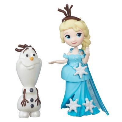 ★衛立兒生活館★HASBRO 孩之寶 F5 冰雪奇緣迷你公主及朋友組-艾莎與雪寶