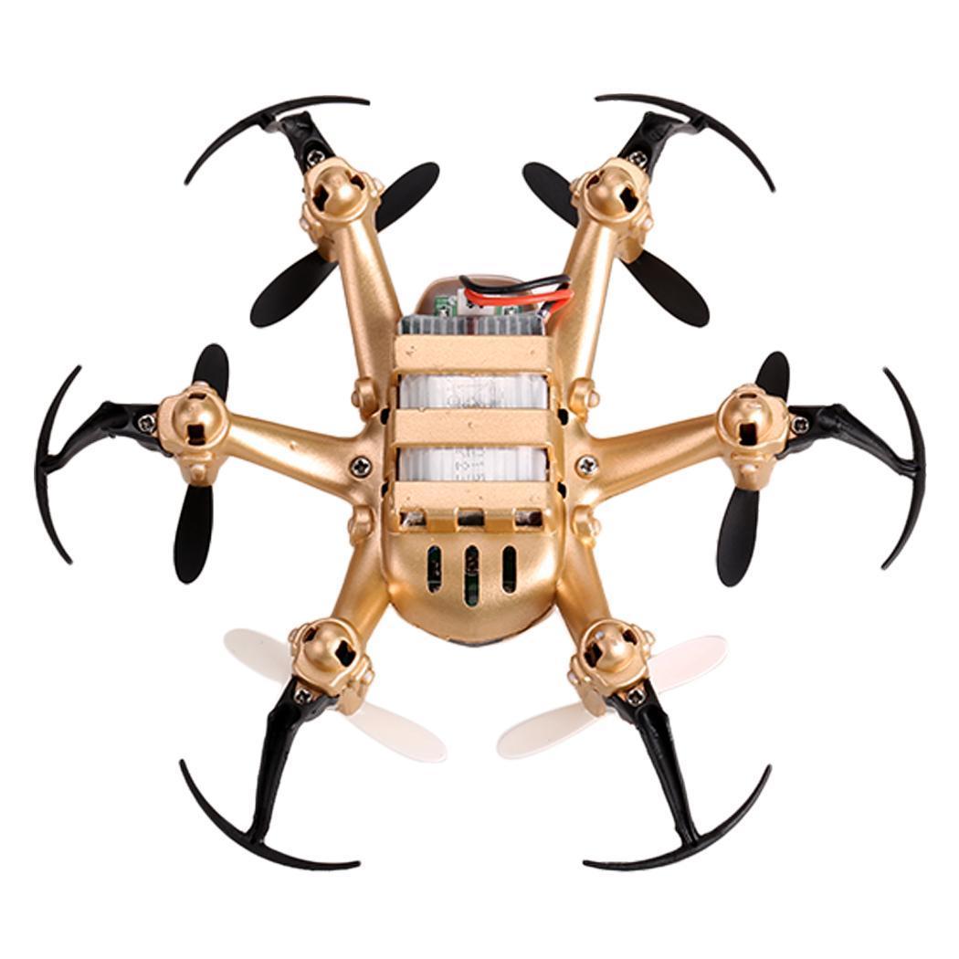 JJRC H20 2.4G 4CH 6-Axis Gyro Nano Hexacopter RTF Quadcopter Gold TXST 1