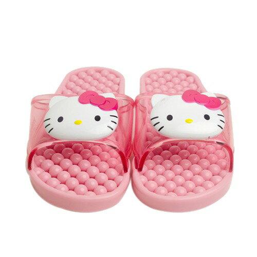 X射線【C064190】Hello Kitty粉色立體大臉浴室拖鞋(26cm),兒童拖鞋/室內拖鞋/舒適拖鞋/休閒拖鞋/生活居家