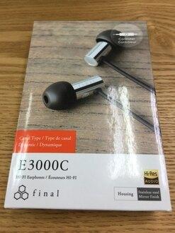 【宏華資訊廣場】日本Final - E3000/E3000C 耳道式耳機