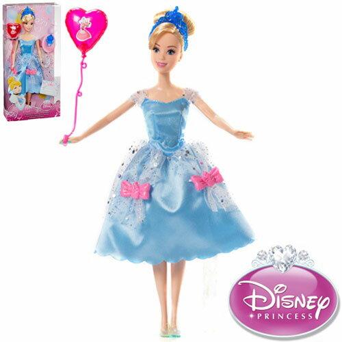 【Playwoods】[迪士尼DISNEY]公主派對系列:灰姑娘 仙杜瑞拉 Cinderella (美泰兒/仙履奇緣/南瓜馬車)