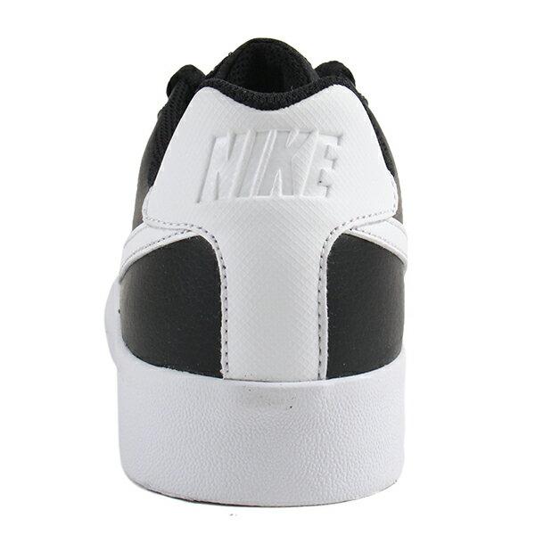 Shoestw【BQ4222-002】NIKE COURT ROYALE AC 休閒鞋 滑板鞋 皮革 黑白 男生尺寸 2