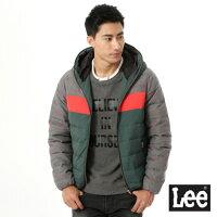 【精選上衣3折】Lee 連帽羽絨外套-Lee Jeans tw-男裝特惠商品