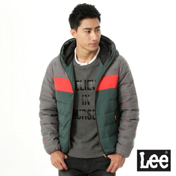 Lee Jeans tw:【精選上衣3.5折】Lee連帽羽絨外套【單筆消費滿1000元全會員結帳輸入序號『CNY100』↘折100
