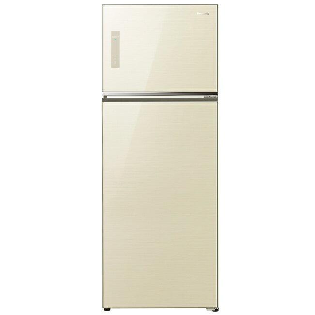 【國際牌Panasonic】ECONAVI 422L雙門變頻電冰箱。翡翠金/(NR-B427TG/NR-B427TG-N)