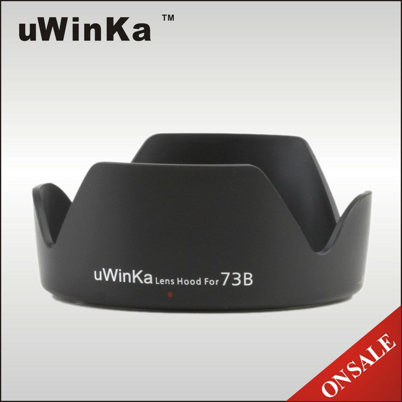 又敗家@uWinka副廠Canon遮光罩EW~73B遮光罩^(可反扣倒裝倒接Canon副廠