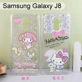 三麗鷗空壓軟殼SamsungGalaxyJ8(6吋)HelloKitty美樂蒂【正版】