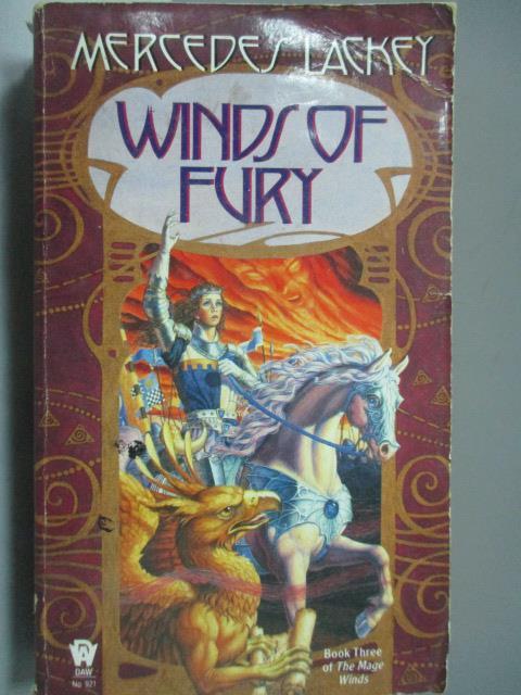 ~書寶 書T4/原文小說_HSY~Winds of Fury_Mercedes Lacke