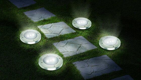LED Solar Pathway Lights - Set of 8 0
