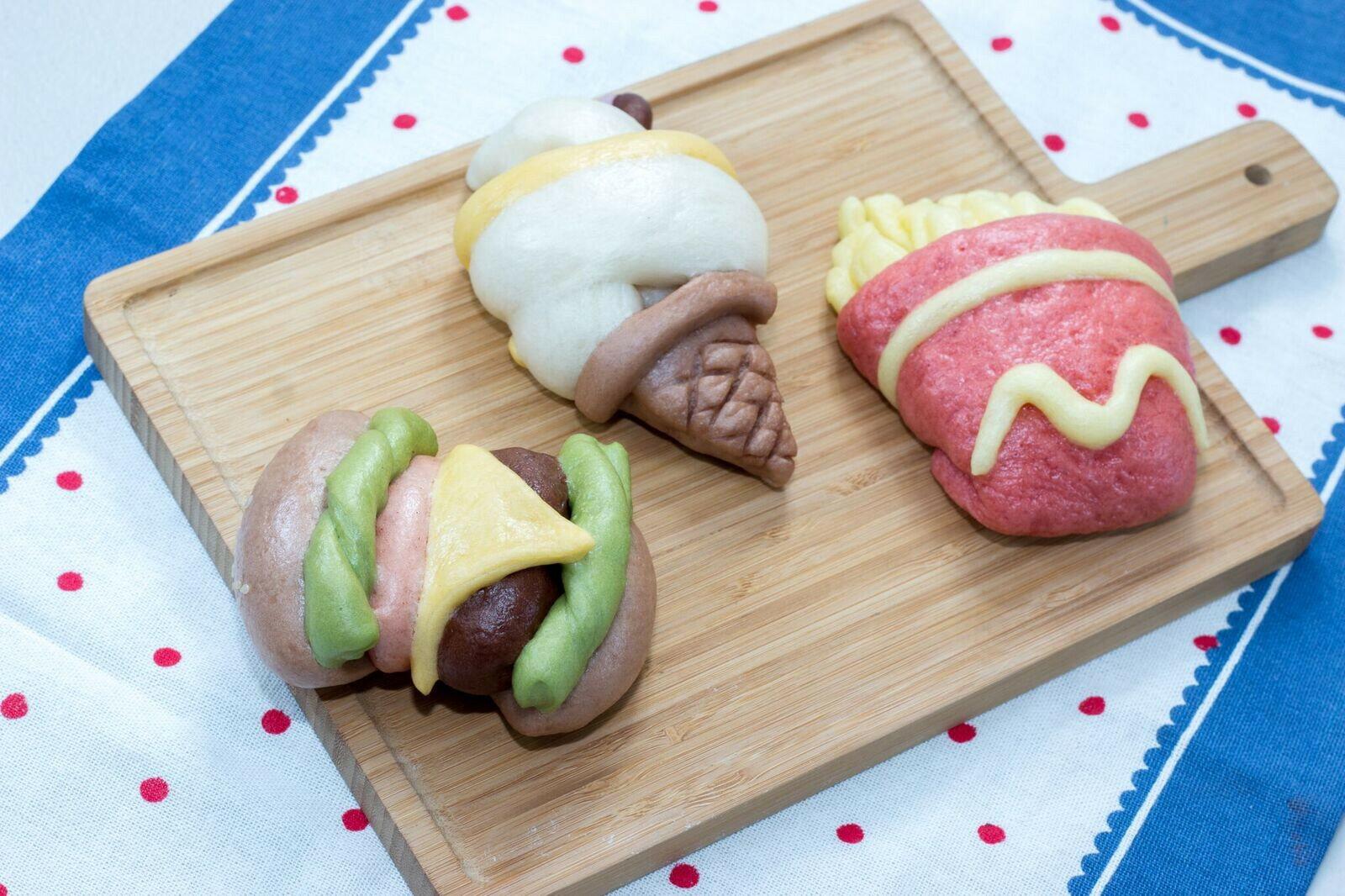 純手工超可愛套餐造型饅頭(三種樣式各一入)