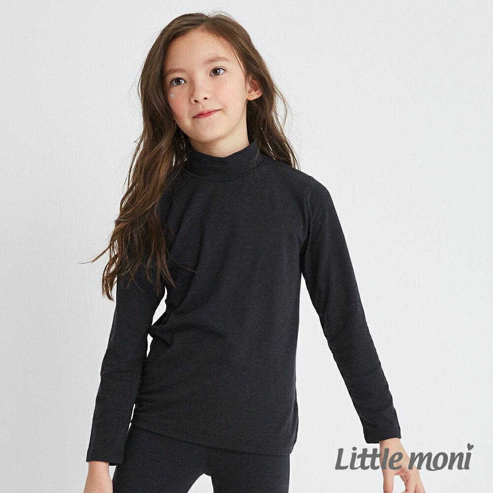 Little moni 發熱紗高領上衣-黑色(好窩生活節) 1
